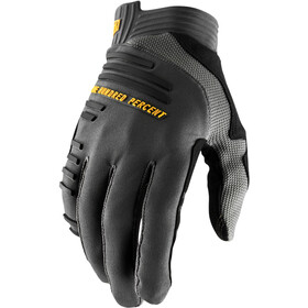 100% R-Core Guantes, charcoal